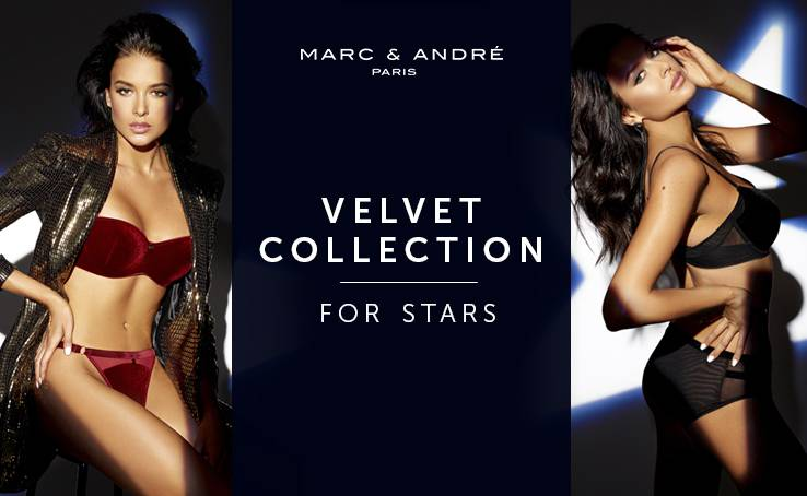 Meet the christmas Velvet collection at Marc & André.