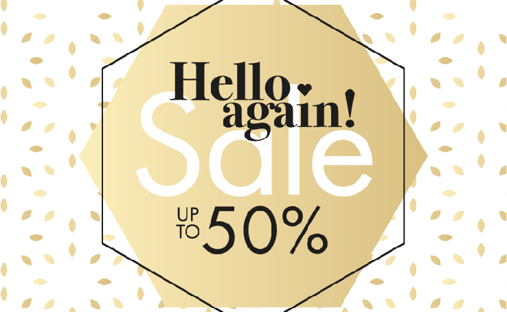 Hello again SALE в SOVA!