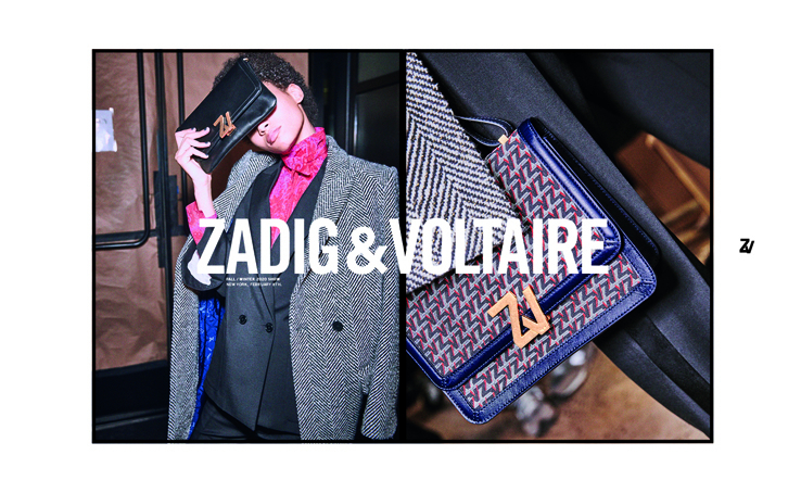 """Client's Day"" in Zadig&Voltaire! -20% on selected items from the new collection."